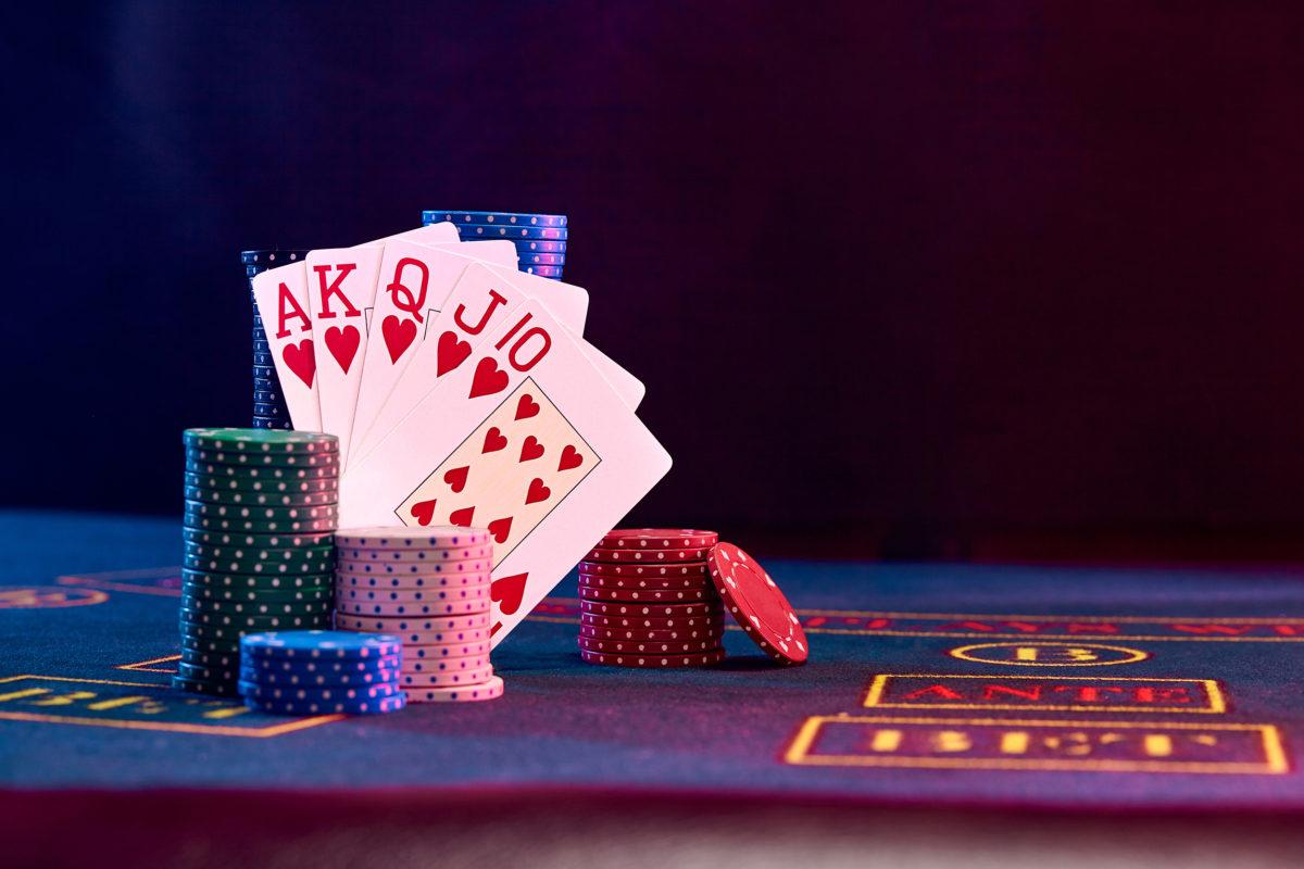 Blue-chip poker
